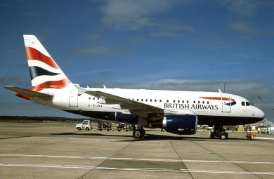 BRITISH AIRWAYS  A318  G-EUNA