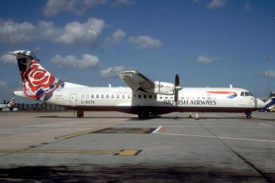 British Airways , ATR72 , G-BVTK