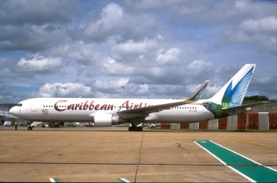 CARIBBEAN  AIRLINES 767-300  9Y-LGW