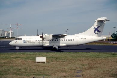 French CAA , ATR42 , F-GFJH